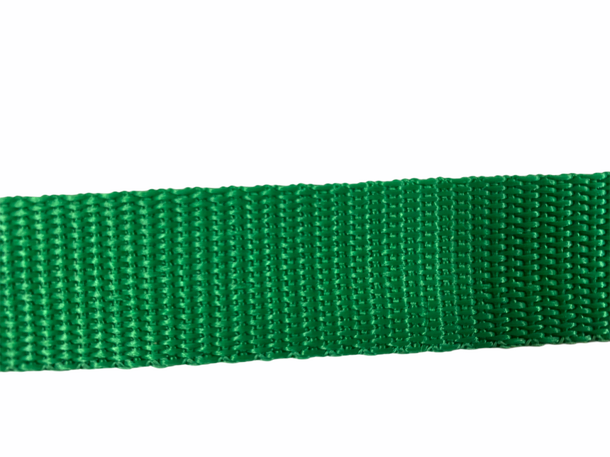 Polypro Webbing 25mm (1inch) - Green