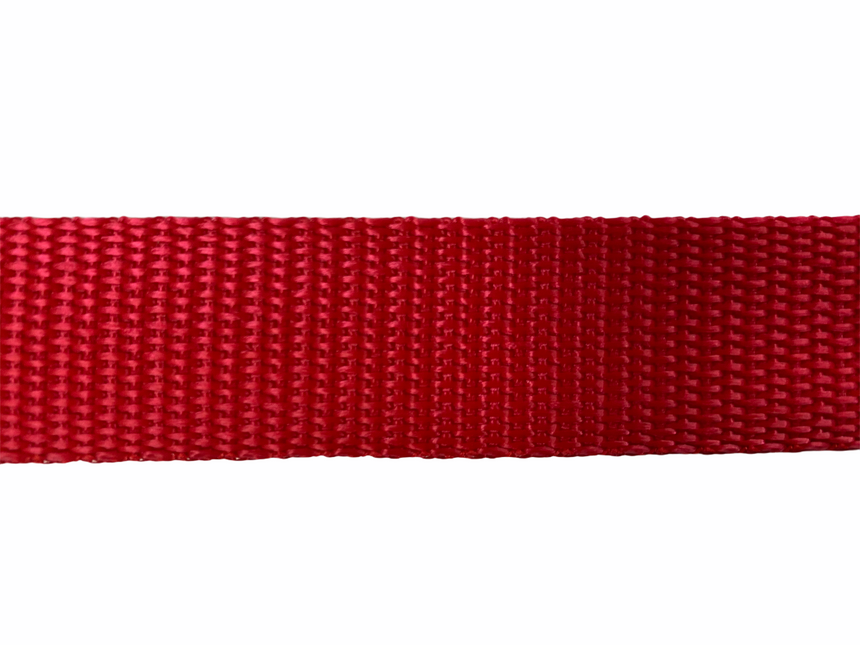 Polypro Webbing 25mm (1inch) - Red
