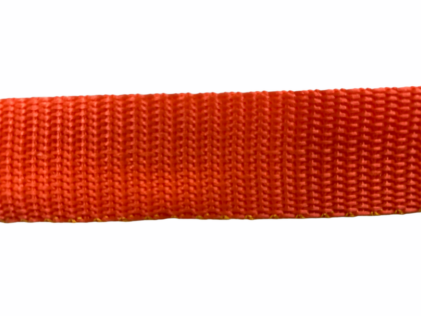 Polypro Webbing 25mm (1inch) - Orange