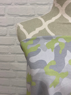 Grey with Lime Camo