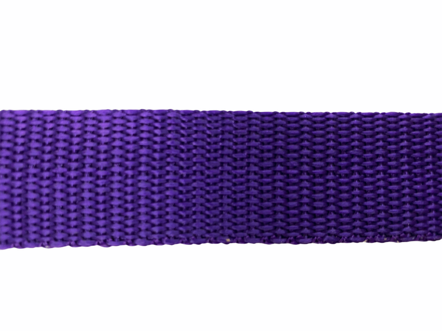 Polypro Webbing 25mm (1inch) - Purple