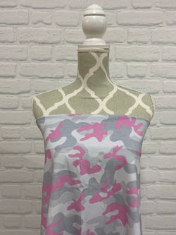Grey with Pink Camo
