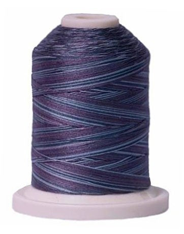 Signature Variegated Thread - 700 Yards - Cotton - 40 Weight - 081 Smoky Blues