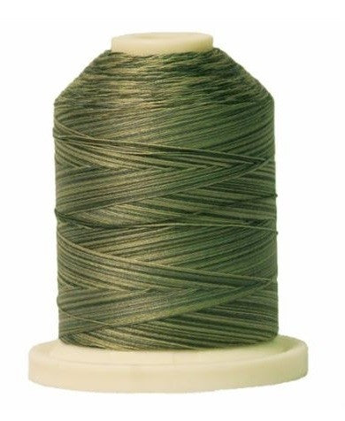 Signature Variegated Thread - 700 Yards - Cotton - 40 Weight - 086 Greyish Greens