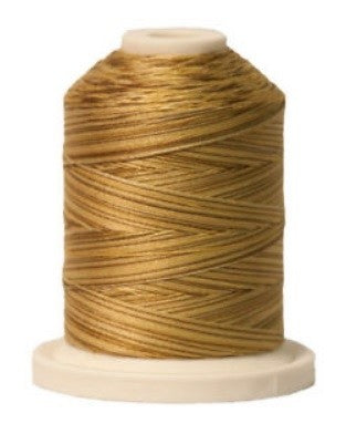 Signature Variegated Thread - 700 Yards - Cotton - 40 Weight - 091 Antique Gold
