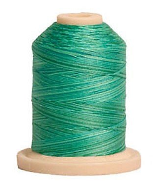 Signature Variegated Thread - 700 Yards - Cotton - 40 Weight - 083 Aqua Waters