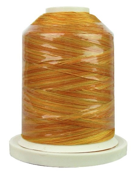 Signature Variegated Thread - 700 Yards - Cotton - 40 Weight - 076 Brassy Yellows