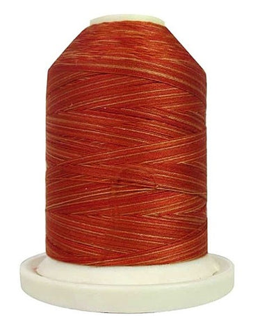 Signature Variegated Thread - 700 Yards - Cotton - 40 Weight - 074 Rusty Oranges