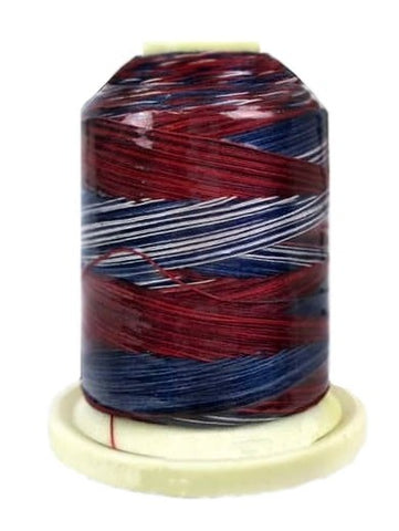 Signature Variegated Thread - 700 Yards - Cotton - 40 Weight - 013 Stars & Stripes