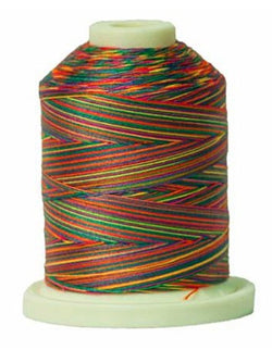 Signature Variegated Thread - 700 Yards - Cotton - 40 Weight - 011 Tiedye