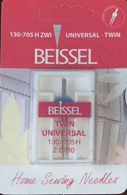 Beissel 2.0/80 Twin Needle Universal, 1 Count