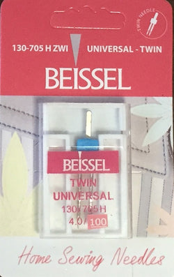 Beissel 4.0/100 Twin Needle Universal, 1 Count