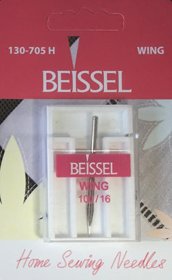 Beissel Sz 100 Wing Needle, 1 Count - Black Rabbit Fabric