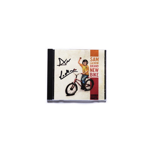 Autographed Brand New Bike CD