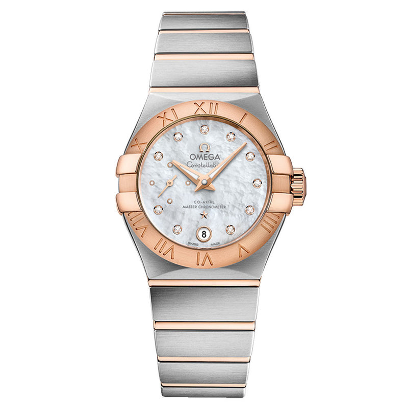 Omega - Ladies' Constellation Small Seconds Co-Axial 27 mm Watch 127.20.27.20.55.001