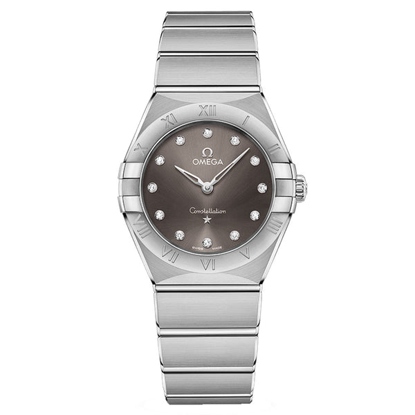 Omega - Ladies' Constellation Manhattan 28 mm Watch 131.10.28.60.56.001