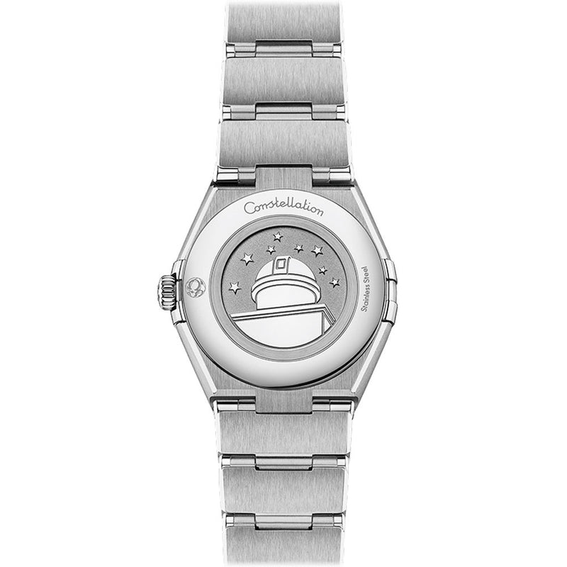 Omega - Ladies' Constellation Manhattan 28 mm Watch 131.10.28.60.56.001caseback