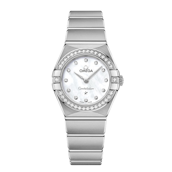 Omega - Ladies' Constellation Manhattan 25 mm Watch 131.15.25.60.55.001
