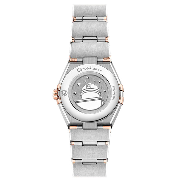 Omega - Ladies' Constellation Manhattam 25 mm Watch 131.20.25.60.55.001 caseback
