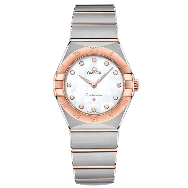 Omega - Ladies' Constellation Manhattan 28 mm Watch 131.20.28.60.55.001