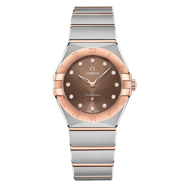 Omega - Ladies' Constellation Manhattan 28 mm Watch 131.20.28.60.63.001