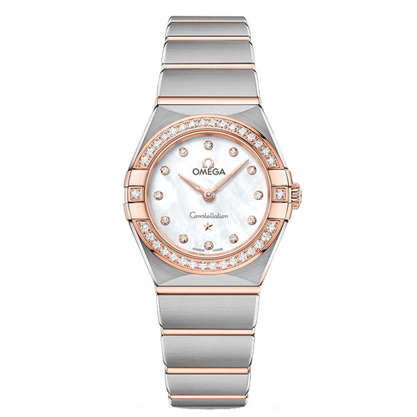 Omega - Ladies' Constellation Manhattan 25 mm Watch 131.25.25.60.55.001