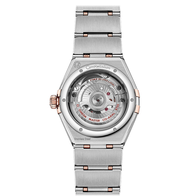 Omega - Ladies' Constellation Manhattan 29 mm Watch(rear) 131.25.29.20.63.001