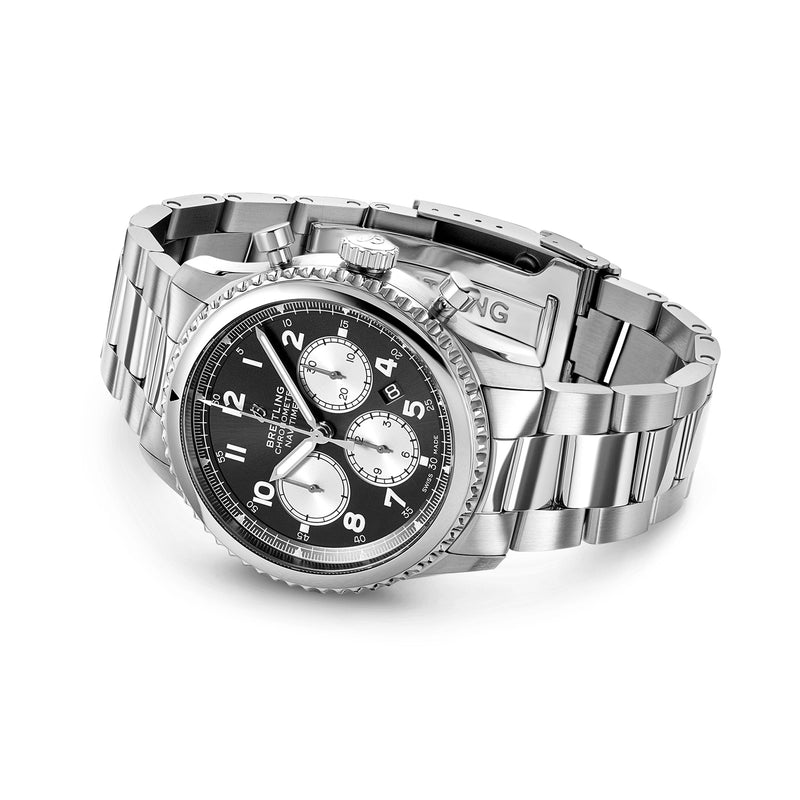 Breitling - Men's Navitimer 8 B01 Chronograph 43 Watch AB0117131B1A1