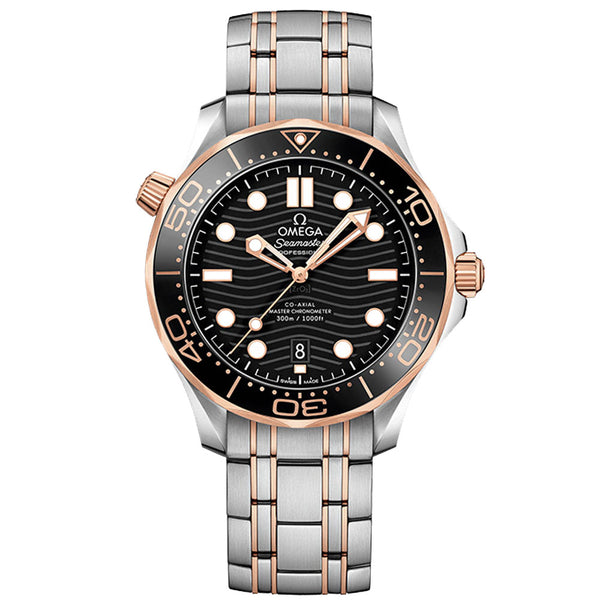 Omega - Men's Seamaster Diver 300M Co-Axial 42 mm Watch 210.20.42.20.01.001