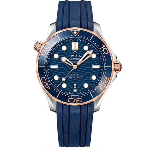 Omega - Men's Seamaster Diver 300M Co-Axial 42 mm Watch 210.22.42.20.03.002