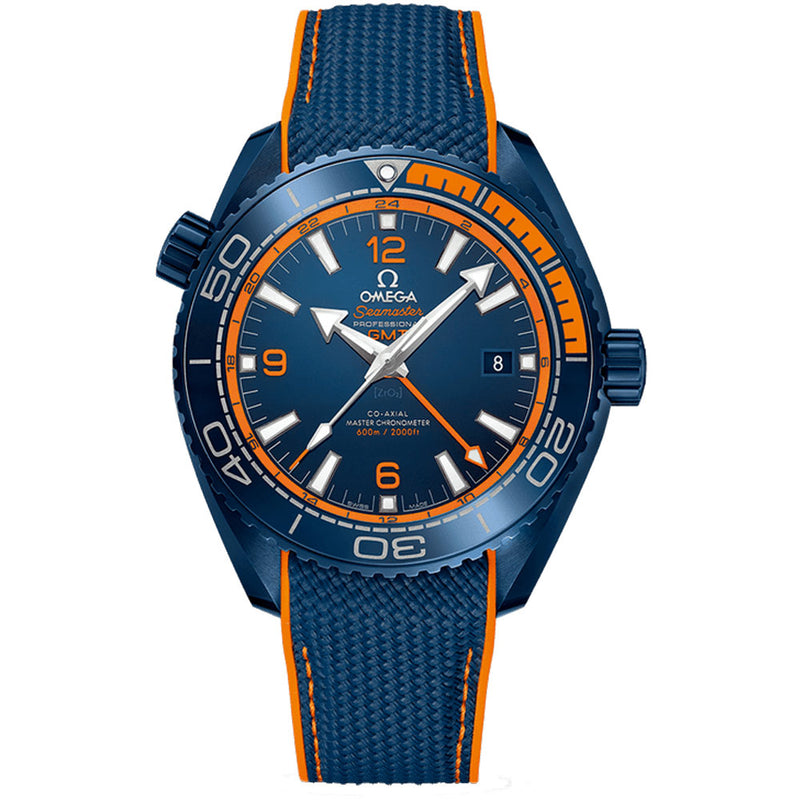 Omega - Men's Seamaster Planet Ocean Co-Axial 600m Big Blue 45.5 mm Watch 215.92.46.22.03.001