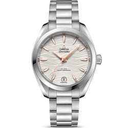 Omega - Ladies' Seamaster Aqua Terra Co‑Axial Master Chronometer 34 mm Watch 220.10.34.20.02.001