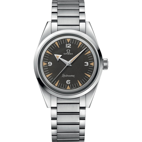 Omega - Men's Seamaster Railmaster Limited Edition Co-Axial Master Chronometer 38 mm Watch 220.10.38.20.01.002