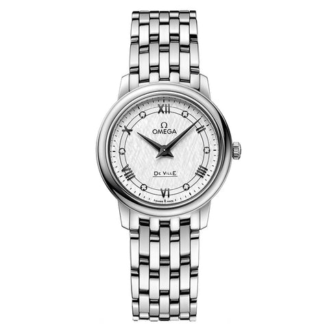 Omega - Ladies' De Ville Prestige Quartz 27.4 mm Watch 424.10.27.60.52.002