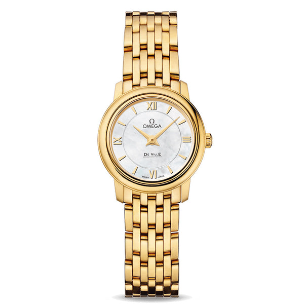 Omega - Ladies' De Ville Prestige Quartz 24.4 mm Watch 424.50.24.60.05.001