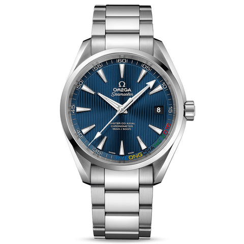 Omega - Men's Seamaster Aqua Terra Pyeongchang 2018 Co-Axial 41.5mm Watch 522.10.42.21.03.001