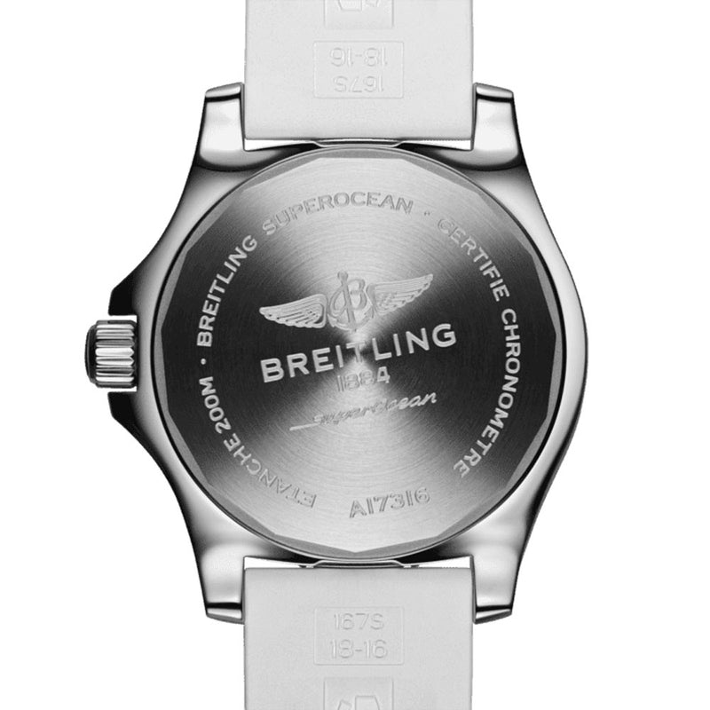 Breitling - Ladies' Superocean Automatic 36 Watch A17316D21A1S1