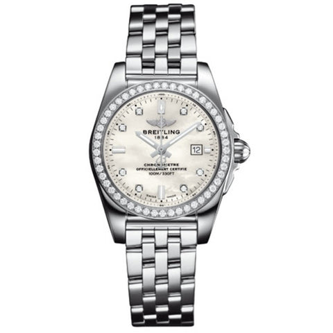 Breitling - Ladies' Galactic 29 Watch A7234853/A785/791A