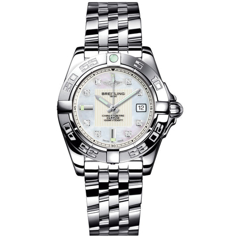 Breitling - Ladies' Galactic 32 Watch A71356L2/A708/367A