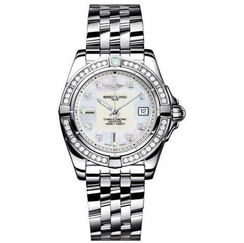 Breitling - Ladies' Galactic 32 Watch A71356LA/A708/367A - front