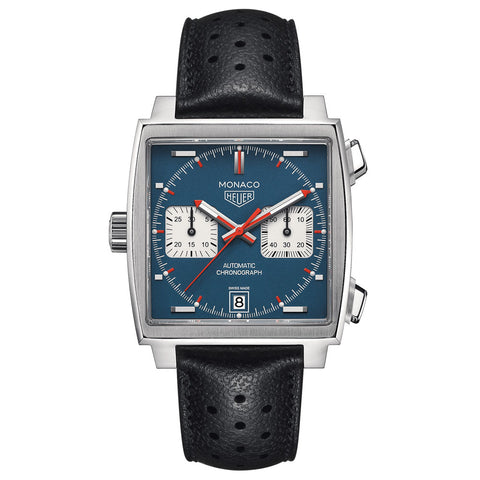 TAG Heuer - Men's Monaco Calibre 11 Automatic Chronograph 39 mm CAW211P.FC6356