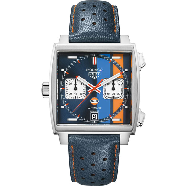 TAG Heuer - Men's Monaco Calibre 11 Automatic Chronograph 39 mm CAW211R.FC6401