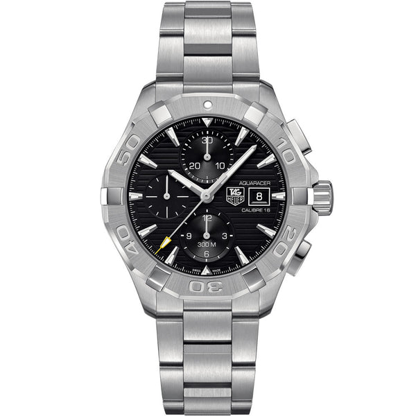 TAG Heuer - Men's Aquaracer Calibre 16 Automatic Chronograph 43 mm Watch CAY2110.BA0927
