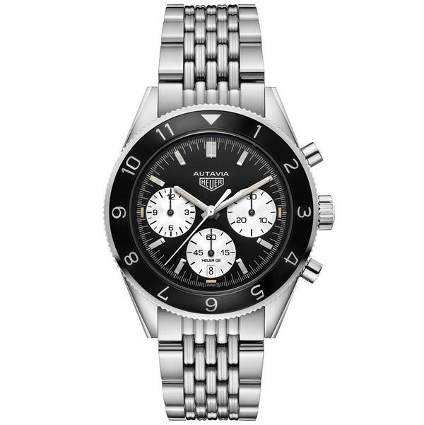 TAG Heuer - Men's Autavia Heuer Heritage Calibre Heuer 02 42 mm Watch CBE2110.BA0687