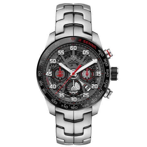 TAG Heuer- Men's Carrera Senna Special Edition Calibre Heuer 02 Watch CBG2013.BA0657