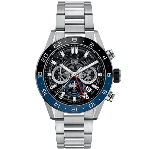 TAG Heuer- Men's Carrera Calibre Heuer 02 GMT Watch CBG2A1Z.BA0658