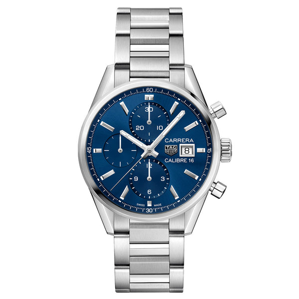 TAG Heuer - Men's Carrera Calibre 16 Automatic Chronograph 41 mm Watch CBK2112.BA0715