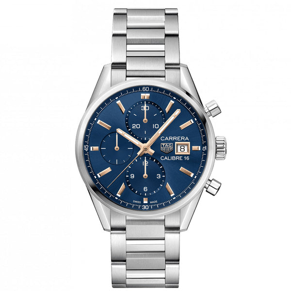 TAG Heuer - Men's Carrera Calibre 16 Automatic Chronograph 41 mm Watch CBK2115.BA0715