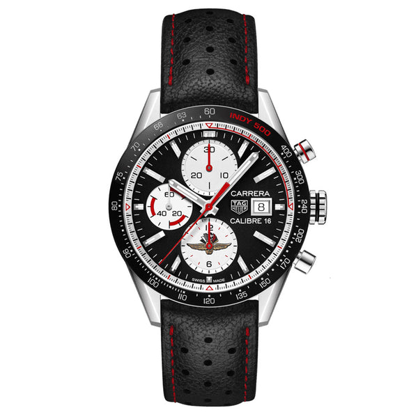 TAG Heuer - Men's Carrera Calibre 16 Automatic Chronograph 41 mm Watch CV201AS.FC6429