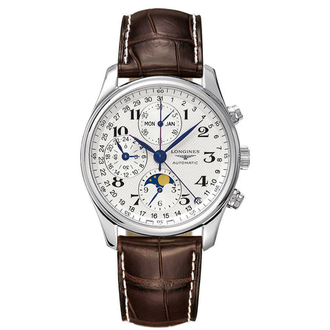 Longines - Men's Master Collection Moonphase  Automatic Chronograph L2.673.4.78.3